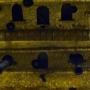 Detajl ladje od zadaj