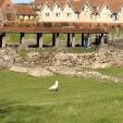 Od nje so ostale ruševine, ki so jih Normani zakopali, današnji arheologi pa odkopali