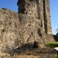 Obzidje starega normanskega gradu