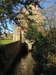 Stara hiša, verjetno najstarejša še ohranjena iz tistega časa, ki je bila zgrajena kot most.