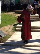 Lahko se oblečete v sultanska oblačila in se fotografirate.
