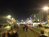 Hoja po tramvajskih tračnicah